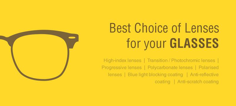 how to choose lenses for glasses